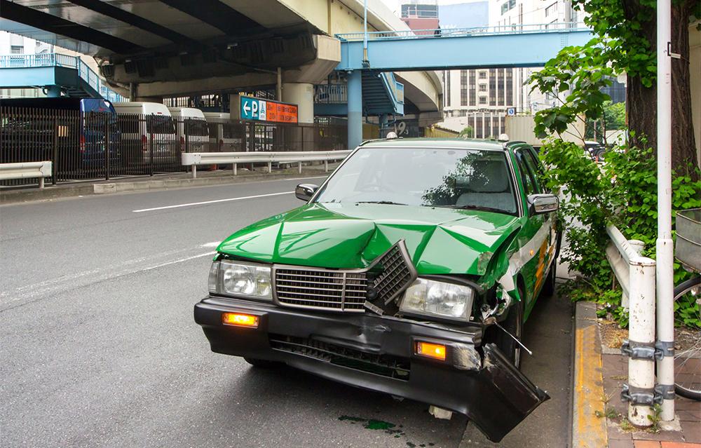 都内のタクシー交通事情 気になる事故の件数は?